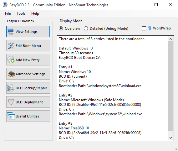 Windows 7 EasyBCD 2.4.0.237 full