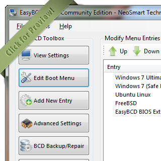 Скачать программу easybcd