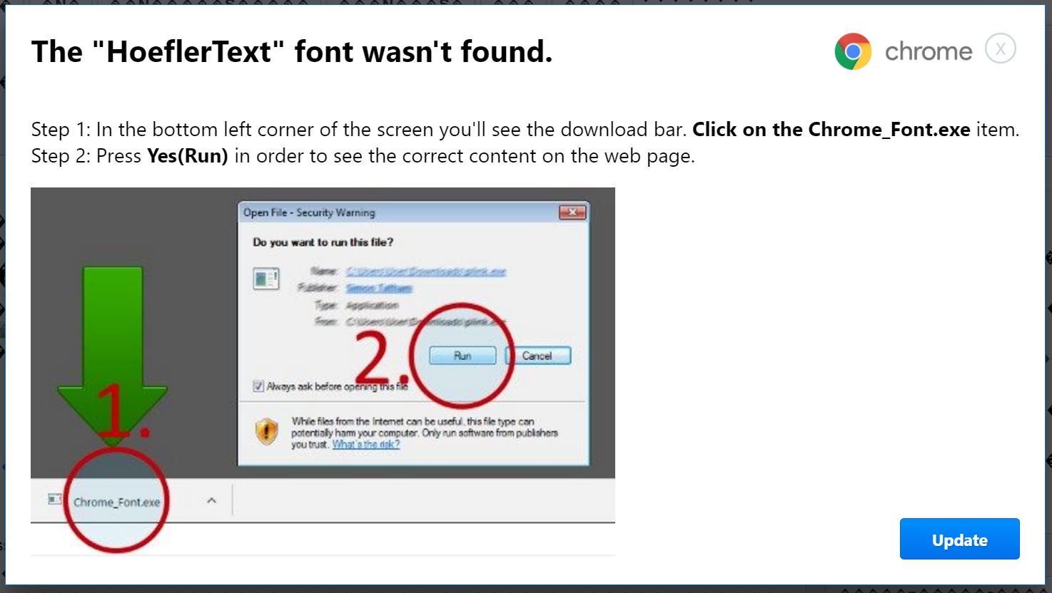 Beware of this new Chrome