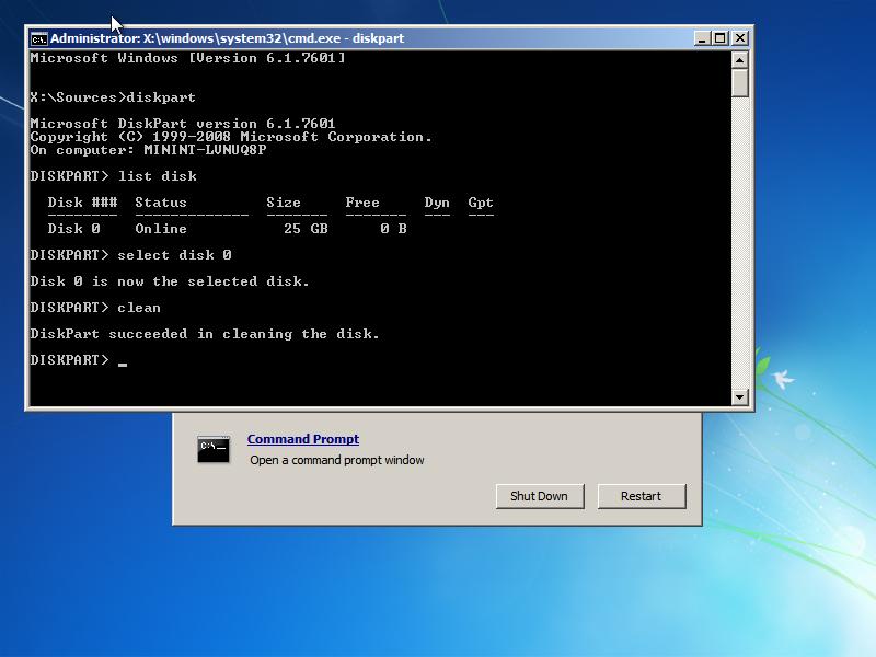 0xe0000100 Fix For Windows Vista 7 8 81 10