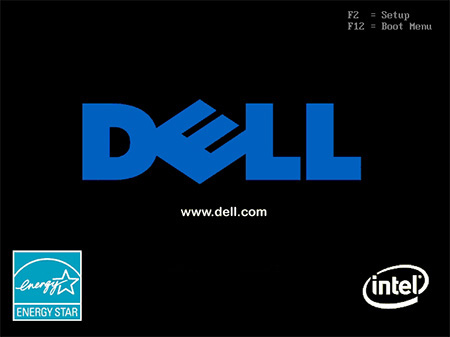 Dell-POST screen