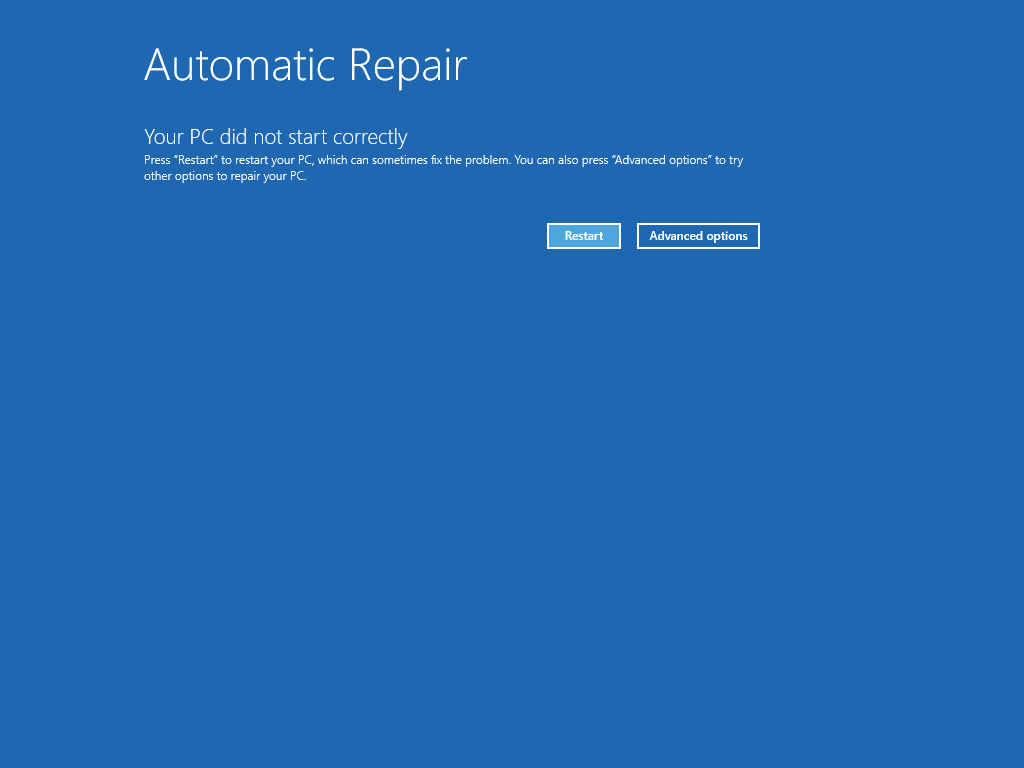 Windows 8 GDI32 dll not found error screen