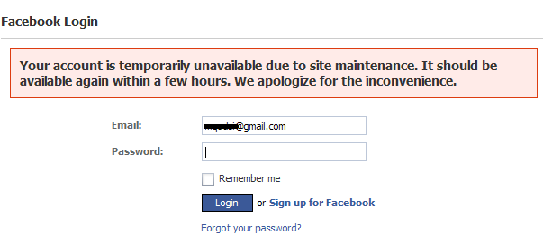 Staggered Facebook