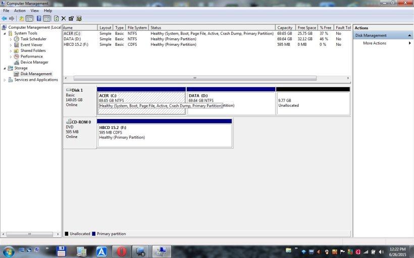 Strange Booting Problem - Windows 7 Home Premium on Acer