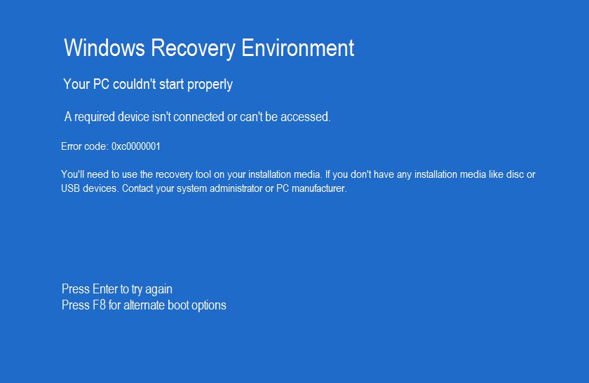 Recovery на компьютере что это