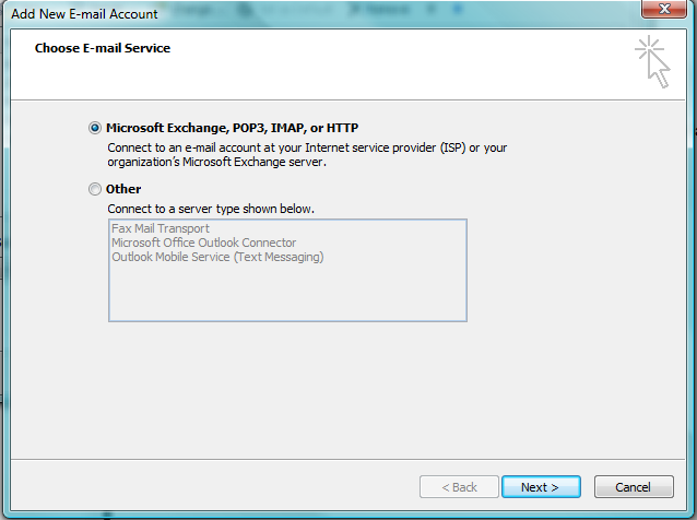 Setting Up Hotmail With Outlook 2007