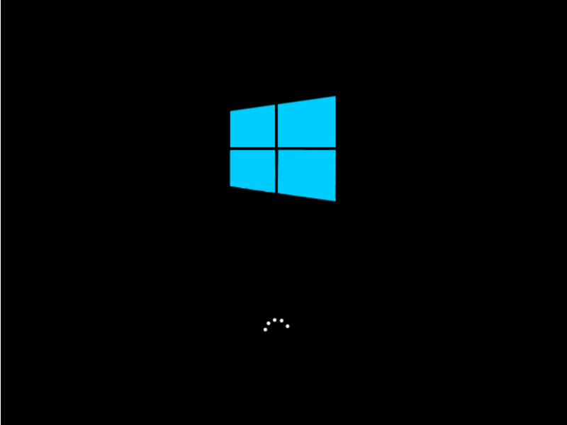 Windows 8 Boot Screen