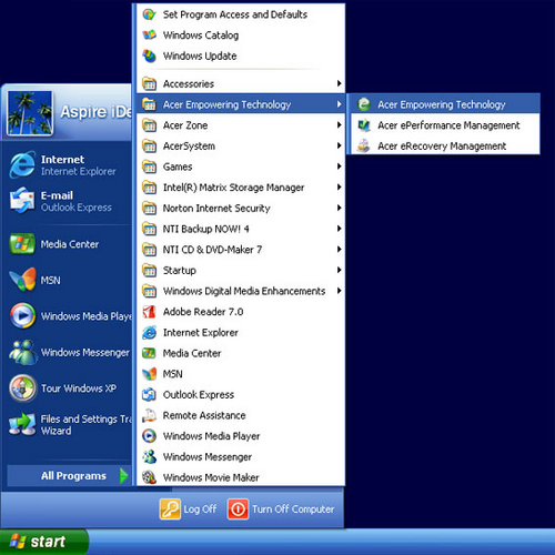 acer empowering technology windows 7 gratuit