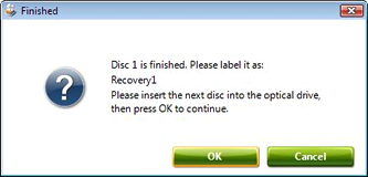 Disk created! Process complete!