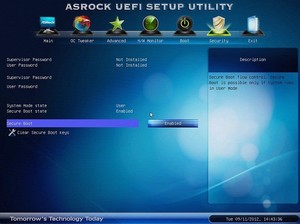 ASRock Secure Boot