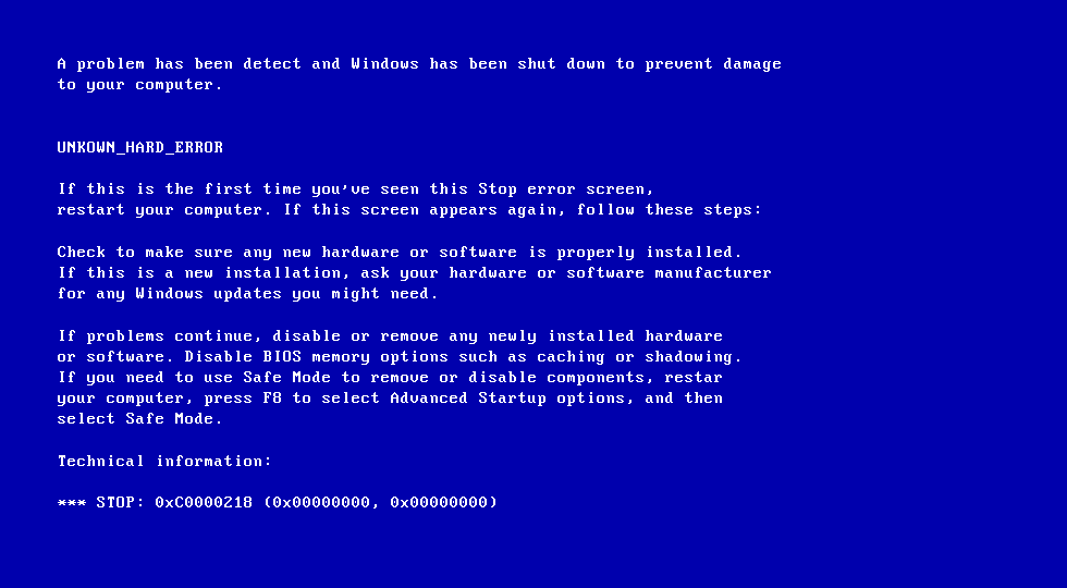 0xC0000218