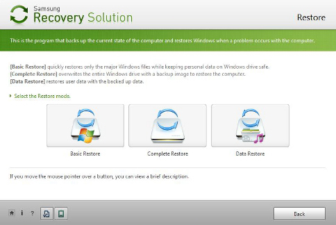 Samsung Recovery Disk – Guide for Windows XP, Vista, 7, 8