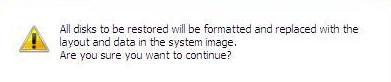 Windows Server 2008 - Warning Message